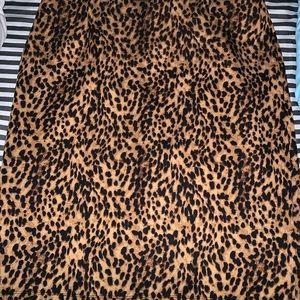 Leopard 🐆 pencil skirt